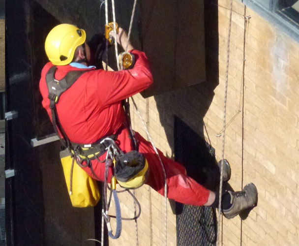 Commercial Rope Access by SWAT Pest Control Ltd