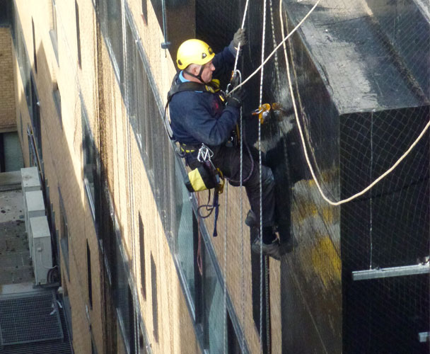 Industrial Rope Access by SWAT Pest Control Ltd